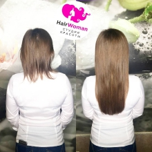 Наращивание волос - мастер Татьяна