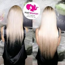 Образ начинается с волос! Наращивание волос Хаирвумен: мастер Евгения