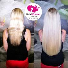 Коррекция 180 прядей . #хаирвумен_мастерСветлана. Стань красоткой с волосами от HairWoman!