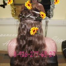 безвредное наращивание волос