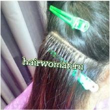 наращивание славянских волос