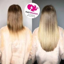 Наращивание волос студия HairWoman