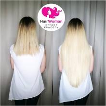 Как думаете, за сколько времени можно сделать коррекцию 500 ультраминикапсул? За 4️⃣ часа!‼️ За идеальным результатом в HairWoman!