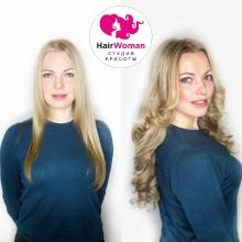 Преображение в HairWoman! Наращивание с укладкой заняло полтора часа! Несмотря на то, что у девушки свои волосы длинные, всегда хочется ещё длиннее и объемнее! А главное (скажу по секрету) - наращивает она постоянно))) а свои волосы продолжают расти и прекрасно выглядеть, благодаря правильному наращиванию и профессиональным мастерам HairWoman Девушка пришла на коррекцию, и потому волосы слева - после снятия!
