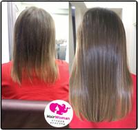 Фото до и после наращивания волос капсулами